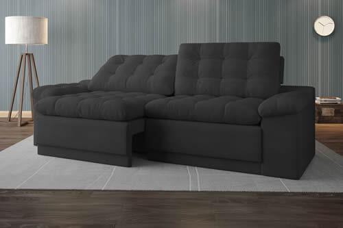 Sofá Confort Retrátil/Reclinável